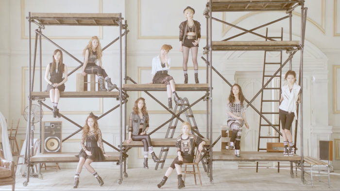 "Girls'Generation ""All my love is for you"" MV"